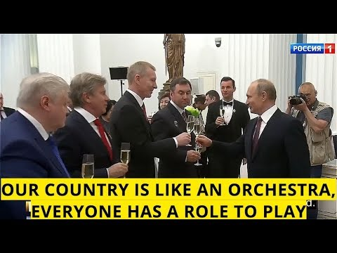 THE PRESIDENT: Putin Decorates More Than 30 Russians, From Celebrities To Modest Workers