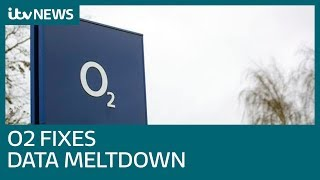 Millions of O2 users stuck offline in mobile phone blackout | ITV News