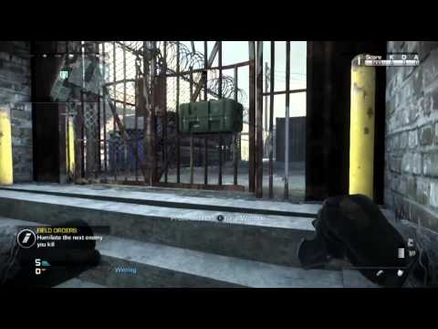CoD Ghosts -SOLO Under The Map On Freight