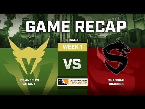 LA Valiant vs Shanghai Dragons | Stage 2 Week 1 Recap