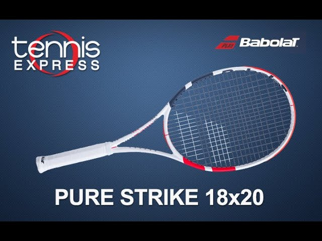 """Used Details about  /Babolat Pure Strike 18x20 3rd generation 4 3//8/"""" grip"""