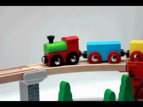 Деревянные паровозики Roys Woody 1
