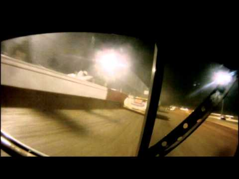 Josh Southerland bumper go pro Albany Motor Speedway 1.25.14
