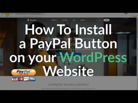 Add Paypal To Wordpress Website:  Paypal Donate Button, Paypal Pay Now Button