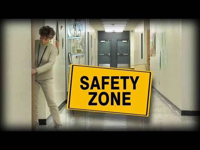 When school safety drills weren't so smooth, these students made a training video