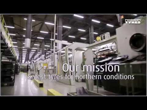 Nokian Tyres - World's Most Modern Tyre Production