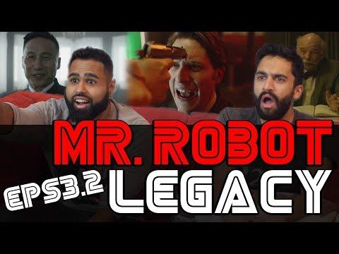 Mr Robot - 3x3 Legacy - Reaction