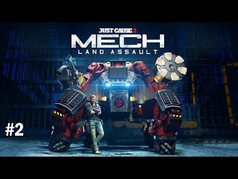 Just cause 3 land  Mech Assault DLC Part 2 |