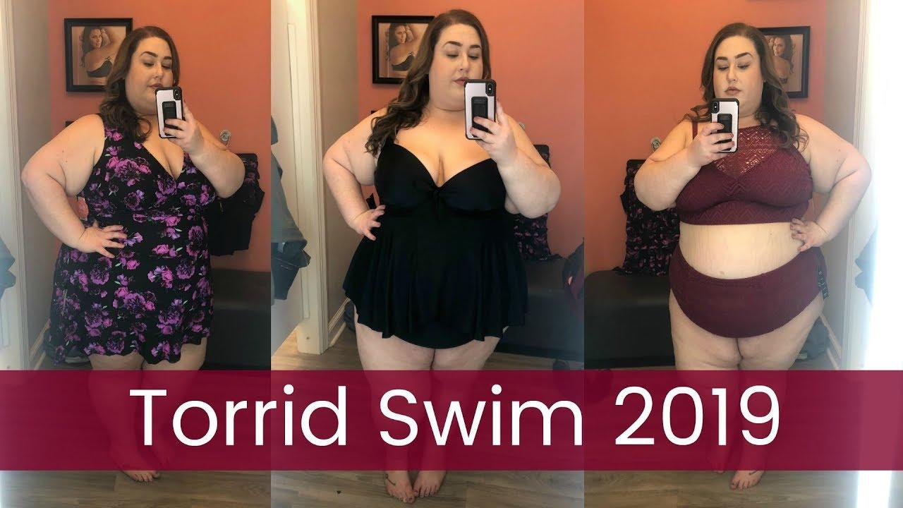 b3895283a3 Plus Size Swim 2019   Inside the Dressing Room at Torrid - YouTube