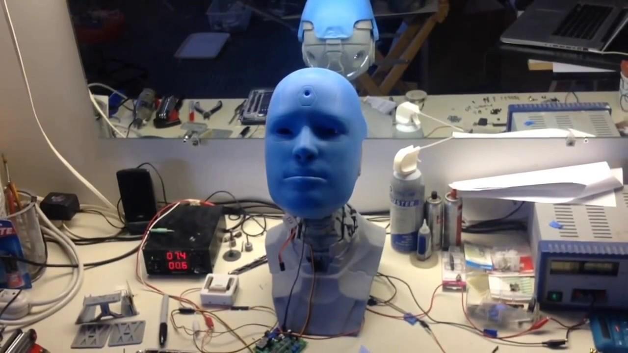 robo toys alan der humanoide roboter aus dem 3d drucker youtube. Black Bedroom Furniture Sets. Home Design Ideas
