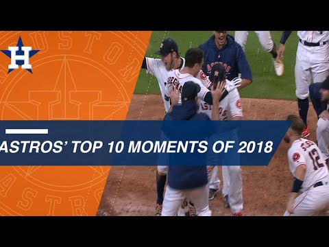 Check out some of the Astros' top moments from 2018