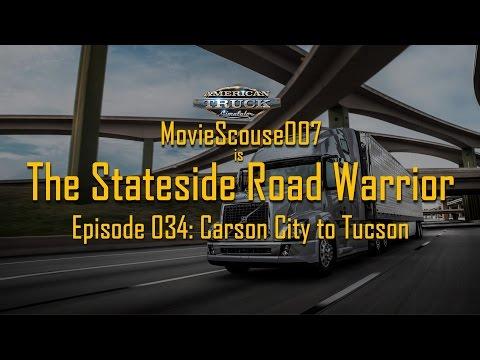 American Truck Simulator Stateside Road Warrior 034 Carson City to Tucson