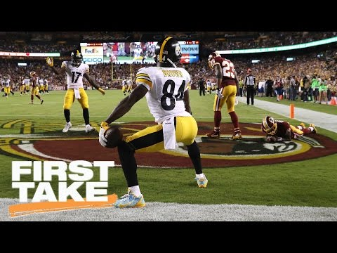 Stephen A. Smith Highly Against NFL's Instructional Celebration Video | First Take | March 23, 2017