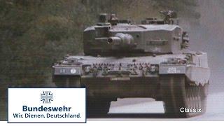 Classix: So stabilisiert der Kampfpanzer Leopard seine Kanone (1986)