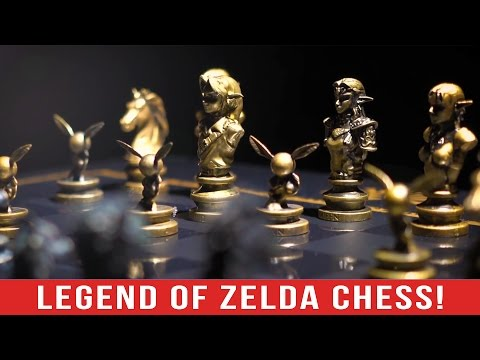 The Most Luxurious Zelda Product on Earth! - Zelda Chess