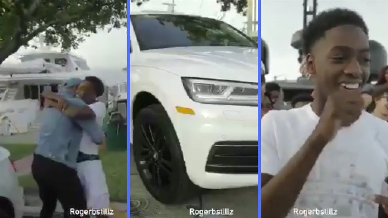 Dwyane Wade Buys Son Zaire Wade His First Car For His Sweet 16 Youtube