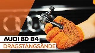 Underhåll Audi 80 b4 - videoinstruktioner