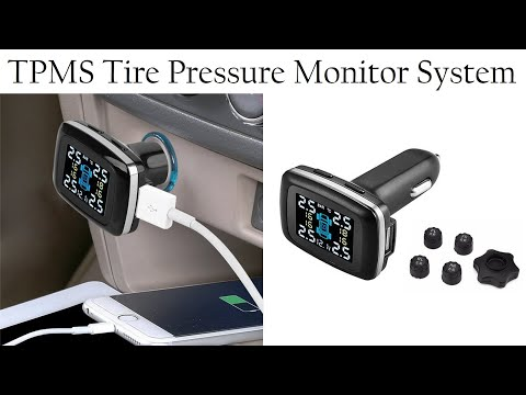 Tire Pressure Monitoring System TP620 from eBay with in car review.