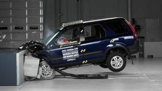 2002 Honda CR-V moderate overlap test