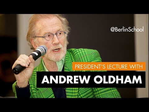 President's Lecture Andrew Loog Oldham