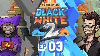 """Pokémon Black 2 & White 2 Soul Link Randomized Nuzlocke w/ ShadyPenguinn! - Ep 3 """"ALDER RETURNS!!"""""""