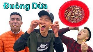 Hữu Bộ | Thử Thách Ăn Đuông Dừa Lội Nước Mắm