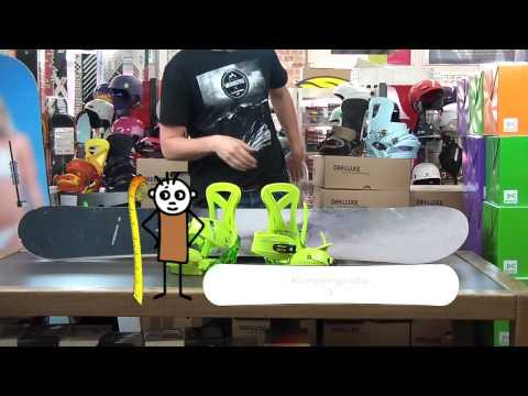 Burton Re Flex Snowboard-Bindung auf Burton Snowboard montieren (Montagevideo)