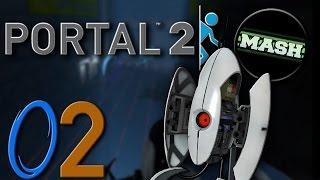 "Portal 2 ""Custom Maps"" [60fps] - mit MASH-MAve #02 -Let"