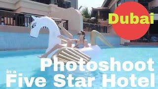 Photo shooting at the pool / dubai / Day 3 / SVD