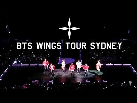 BTS WINGS TOUR 2017 SYDNEY AUSTRALIA   방탄소년단 호주   ZoeTwoDots