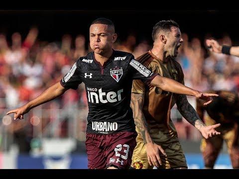 Gol de Marcos Guilherme – São Paulo 1 x 0 Sport – Narração de José Manoel de Barros