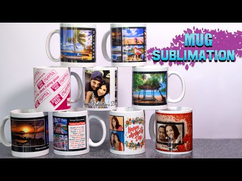 How To Sublimate Mugs Step By Step.