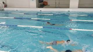 100 комплексное плавание
