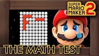 Super Mario Maker 2 - Help Mario Get an A+ On His Math Test
