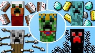 100+ Neue Creeper! (Kuchen Creeper, Säure Creeper, Pfeile Creeper)