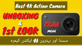Xiaomi Mijia mini 4k action camera is real 4k with 4k 30fps, 2.5k 3...