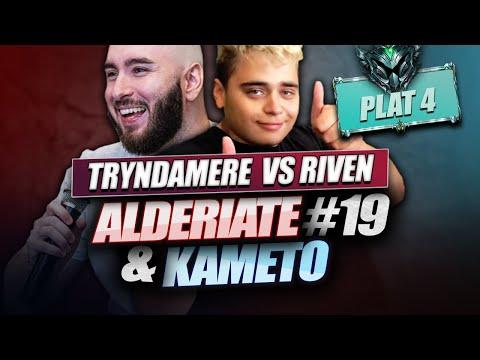 Vidéo d'Alderiate : [FR] ALDERIATE & KAMETO - TRYNDA VS RIVEN - PATCH 9.14 - RIVEN AVEC STOPWATCH C'EST