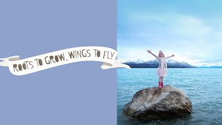 roots and wings organic merino 1min   roots to grow wings to fly
