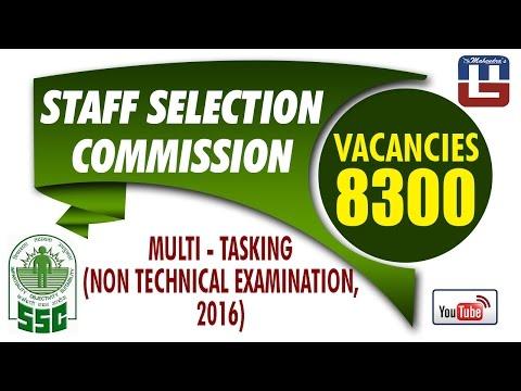 #SarkariNaukari   SSC   Multi Tasking (Non-Technical) Staff Recruitment 2016