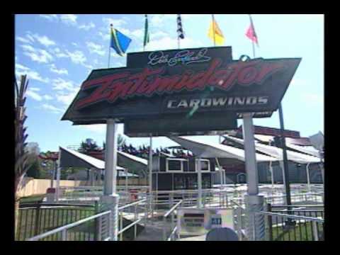 Dale Earnhardt Intimidator Roller Coaster Debuts