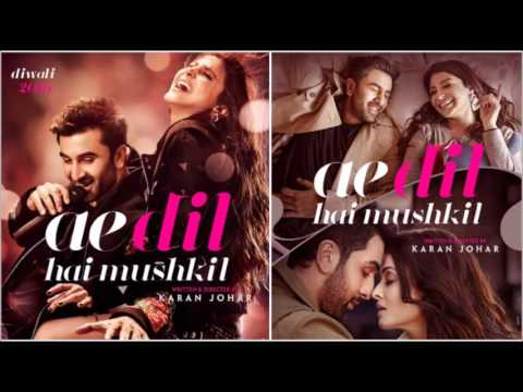 Ae dil hai mushkil  - Full song HD