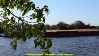 Hidrovia  Paraná   Paraguai   Canal Tamengo