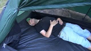 Projekt Alaska 2014 - Test av tält i skogen