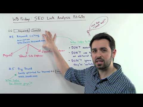 SEO Link Analysis Pitfalls - Whiteboard Friday