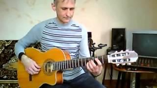 Гитарист Олег  Shape of my heart Sting
