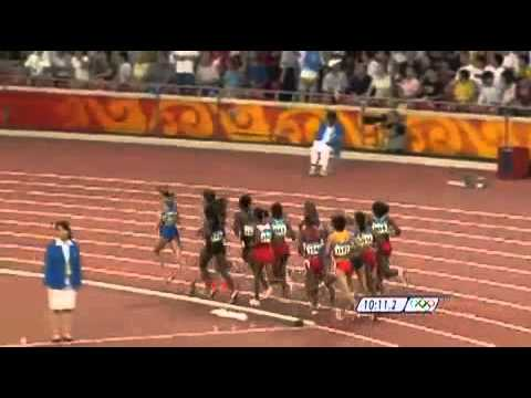 Tirunesh Dibaba - 2008 Beijing Olympic Games Womens 5000m Final full video