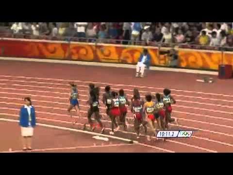 Tirunesh Dibaba - 2008 Beijing Olympic Games Womens 5000m Final full video