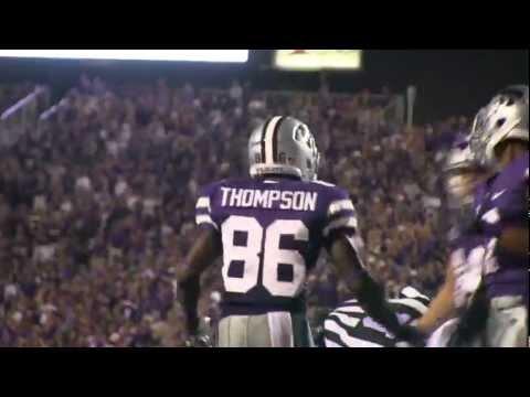 Tramaine Thompson Punt Return - KSU vs MSU