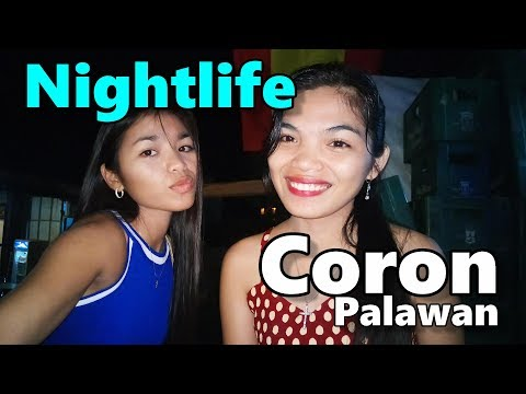 Filipina Nightlife Coron Palawan Philippines