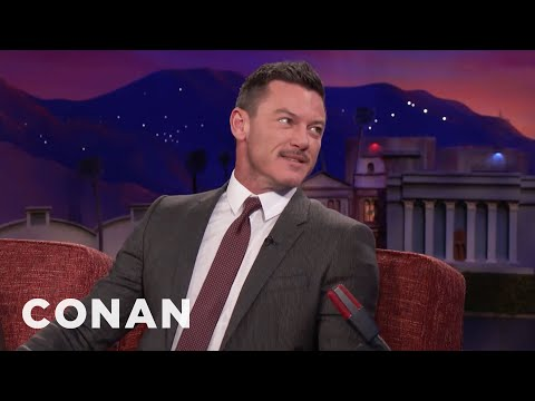 "Luke Evans Pitches ""Conan Without Borders: Wales""  - CONAN on TBS"